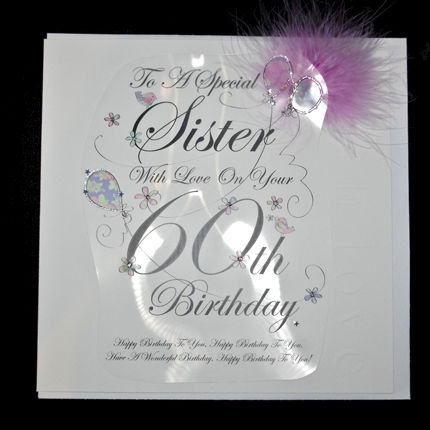 Happy 60th birthday card for sister quotes m4hsunfo